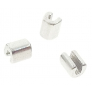 """Crimpable Split Stops (Archwire Stop) Fits .018"""" to .021"""" x .025"""" archwires ,  10 Pcs / Pack (Unit)"""