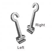 Implant Hook (Crimpable Archwire Hooks) ,  (5 pieces x Left + 5 pieces x Right) / Pack (Unit)