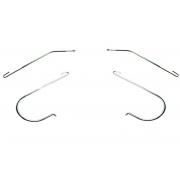 J - Hooks,  2 Pcs / Set (Unit)