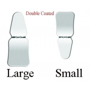 Mouth Inner Viewfinder Mirror Combined (Stainless Steel /Double Coated) , Set of 1